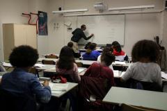 Teacher plow student